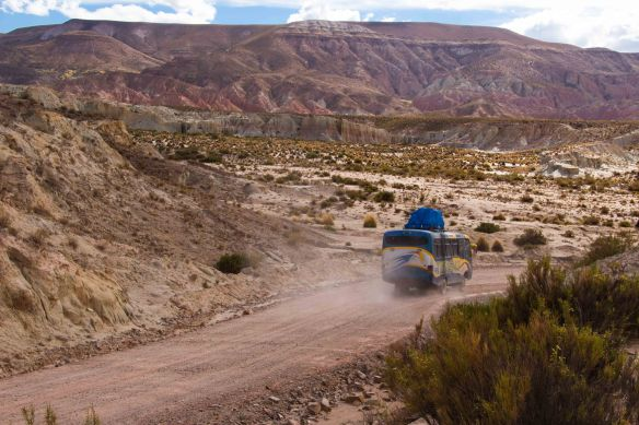 On the road to Uyuni
