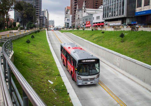 Transmilenio, Bogota, Colombia