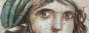 Gypsy Girl, Zeugma Mosaic Museum