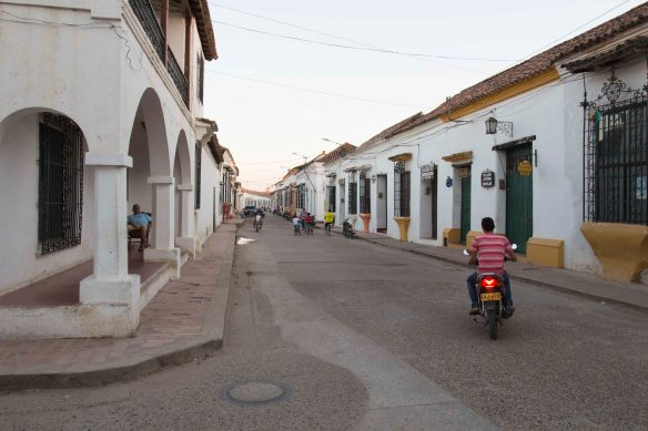 Motorbike, Mompos, Colombia